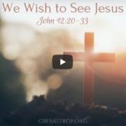 Brora Church Sermon